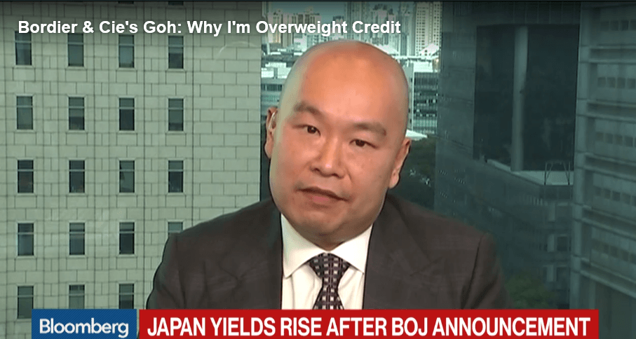 Bordier & Cie's Goh: Why I'm Overweight Credit